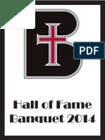 hall of fame program 2014 final