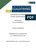 Proyecto Metodologia de La Investigacion 2