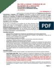 Acta Mesa Nacional Por La Unidad y Dignidad de Los Trabaja Dores de La Educación (Asamblea 22-11-2014)
