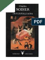 Nodier Charles Infernaliana