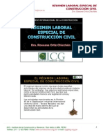 Regimen Laboral en Construcción Civil en el Peru