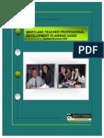 MarylandTeacherProfessionalDevelopmentPlanningGuide.pdf
