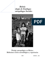 Boletín CEAS Peritaje Antropológico