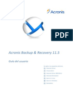 El Manual de Acronis