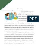 genetic testing essay