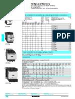 Schneider Lc1-d Series Contactor Datasheet