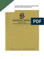 Magnum Opus Melayu, Sulalatus Salatin (Sejarah Melayu), Yang Tak Lapuk Dek Hujan Dan Yang Tak Lekang Dek Panas