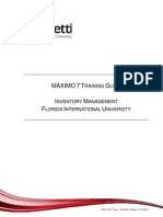 Maximo7Inventory_FIUTrainingManual