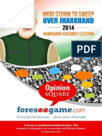Jharkhand Assembly Election 2014 Survey