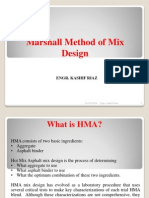 Marshall Mix Design