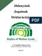 Földanyánk Jogainak Deklarációja - Exopolitika Magyarország