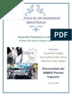 Código etico del Ingeniero Industrial