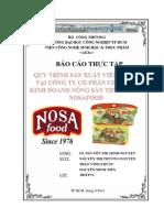 Báo Cáo Thực Tập Quy trình sản xuất viên gia vị tại công ty Nosafood