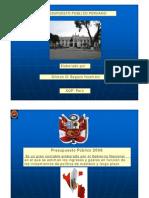 Presupuesto Publico Peru