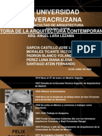 Historia de La Arq. Contemporanea