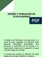 Diseno y Operacion Floculadores