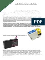 Ventajas Y Beneficios De Utilizar Cartuchos De Tinta Compatibles