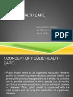 Public health care in Bangladesh