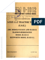 Tm 9-1812 Ihc H-542-9 and H-542-11, Marmon Herrington H-542-11 and Kenworth H-542-11