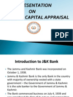 j&k bank working capital
