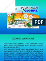 Kenaikan Suhu Air Laut Akibat Global Warming