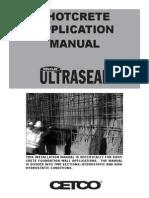 Ultraseal Shotcrete Product Manual