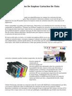 Ventajas Y Beneficios De Emplear Cartuchos De Tinta Compatibles