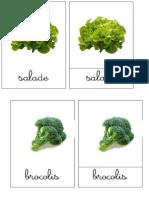 Nomenclature Légumes