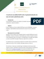 Actividad obligatoria del Módulo 2 | MOOC Comunicación y Aprendizaje Móvil