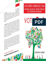 Candidaturas FETE Publica Badajoz