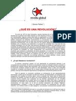 Bsylvain Pattieu ¿Qué es una Revolucion?