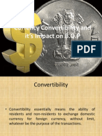 21814664 Currency Convertibility and Its Impact on BOP
