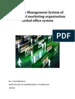 2database Management System of Multi Level Marketing Organisation