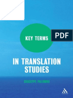 Giuseppe Palumbo-Key Terms in Translation Studies-Continuum (2009)