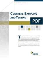 TechNote Concrete Sampling and Testing