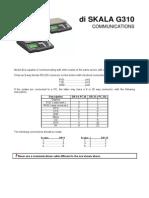 Di SKALA G310 Communications Manual