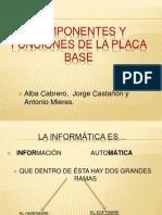 Componentes y Funciones de La Placa Base