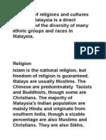 Culture Malaysia