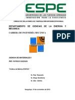 Fabrica Edesa Quito informe tecnico