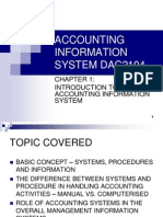 Chap 1 ACCOUNTING INFORMATION SYSTEM