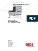 EMCO WinNC GE Series Fanuc 0-MC Manual