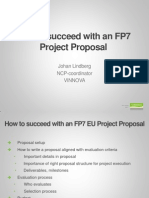 How to Succeed With FP7 Project Proposal
