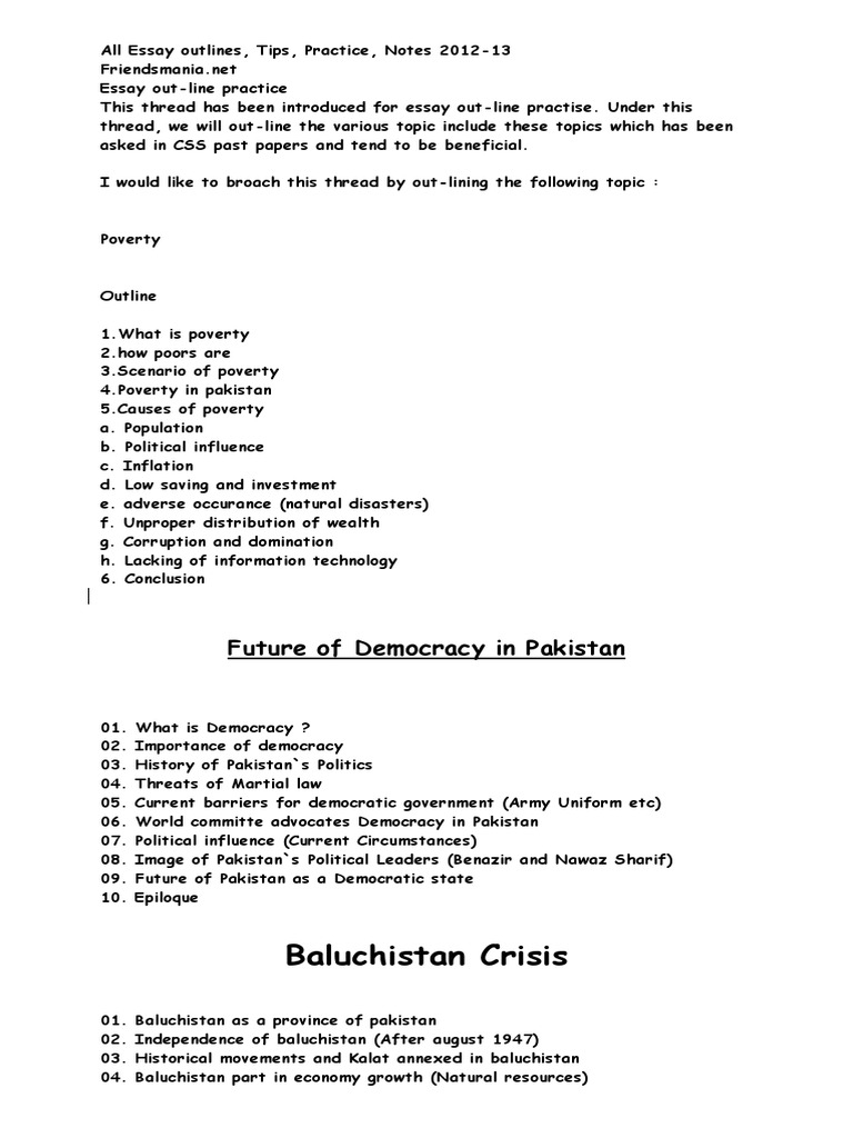 All Essay Outline 12 | Nuclear Weapons | Treaty On The Non