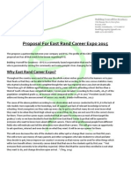 East Rand Career Expo 2015 Proposal