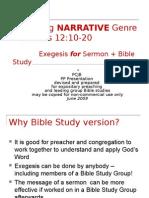 BS17. Genesis 12.10-20 Narrative - B.study WEB V
