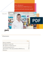 Pwc 17th Annual Global Ceo Survey Retail Consumer Goods Key Findings