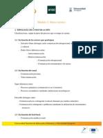 Desarrollo de contenidos del Módulo 2 | MOOC Comunicación y Aprendizaje Móvil