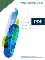 Tata Communications Annual Report 2014