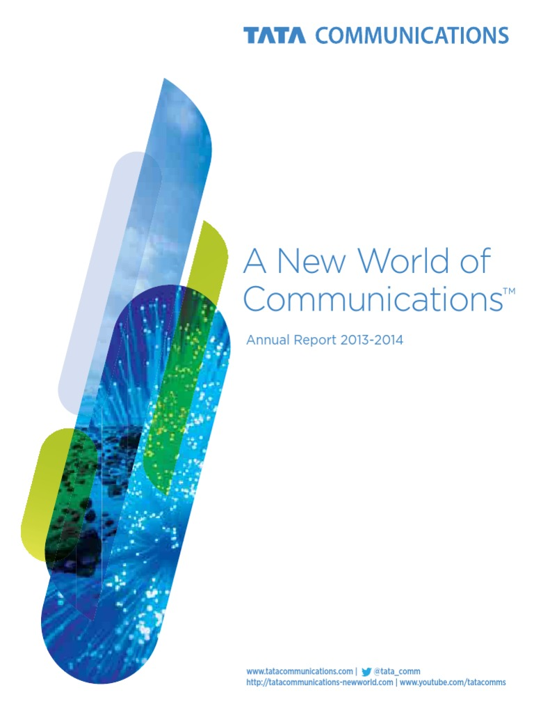 dcfc4493765a Tata Communications Annual Report 2014