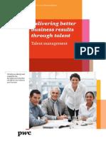 Pwc Strategic Talent Management